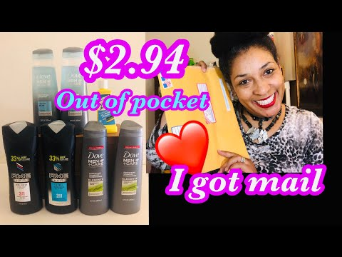 RUN DEAL SUPER CHEAP DOVE MEN AND AXE Products Couponing Crystle