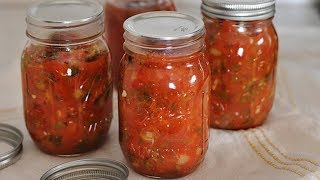 Learn How to Can Salsa the Easy Way...