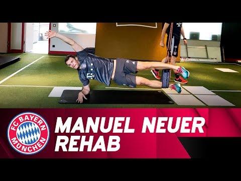 Manuel Neuer working on his comeback! 💪 | FC Bayern