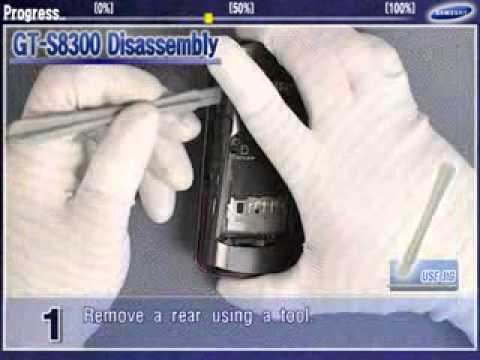 Samsung GT-S8300C Disassembly