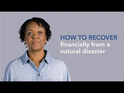 Steps to Recover Financially from a Natural Disaster — consumerfinance.gov