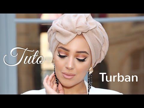 TUTORIEL TURBAN SUPER FACILE ~ EASY TURBAN TUTORIAL