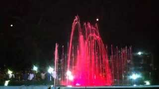 Saare Jahan Se Accha song at Musical Fountains at Brindavan Gardens, Mysore, India