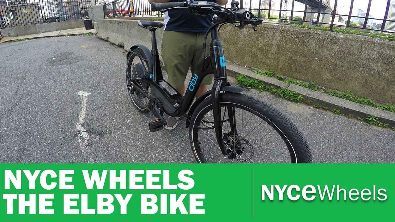 elby bike powered by bionx high power adjustable commuter
