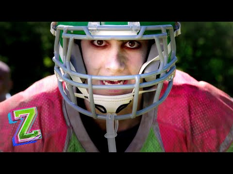 Zed The Football Star! 🏈   Super Bowl Sunday   ZOMBIES   Disney Channel
