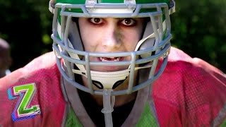 Zed the Football Star! 🏈 | Super Bowl Sunday | ZOMBIES | Disney Channel