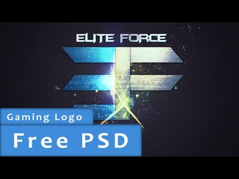 Photoshop Elite Force team logo +PSD - YouTube