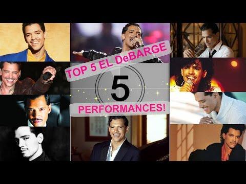 MY TOP 5 EL DeBARGE PEFORMANCES!