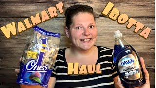 """Walmart """"IBOTTA"""" haul. How to pay with ibotta"""
