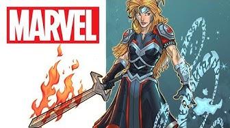 The Fallen Goddess of War | Marvel Make Me A Hero
