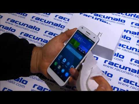 Huawei Ascend G7 - video test (17.11.2014)
