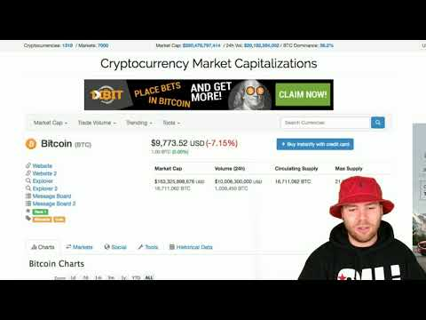 Moving Your Investing Capital Into Cryptocurrency | Mega Market Cap Dip