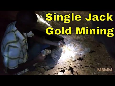 Kenya Miners Part 1: Mining underground by hand for gold bearing quartz viens