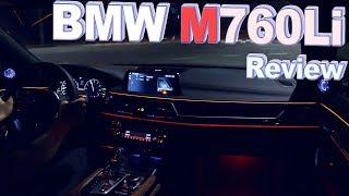 괴물같은 V12!! BMW M760Li 야간주행 ♥ 오토소닉스 자동차 리뷰 #88 ♥