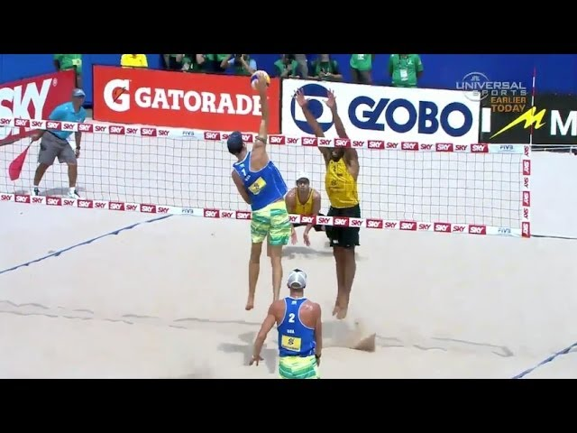 Best Volleyball scores from Medal Matches - Universal Sports Travel Video