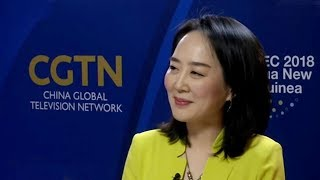 Tian Wei interviews the chair of the APEC Women's Leadership Forum