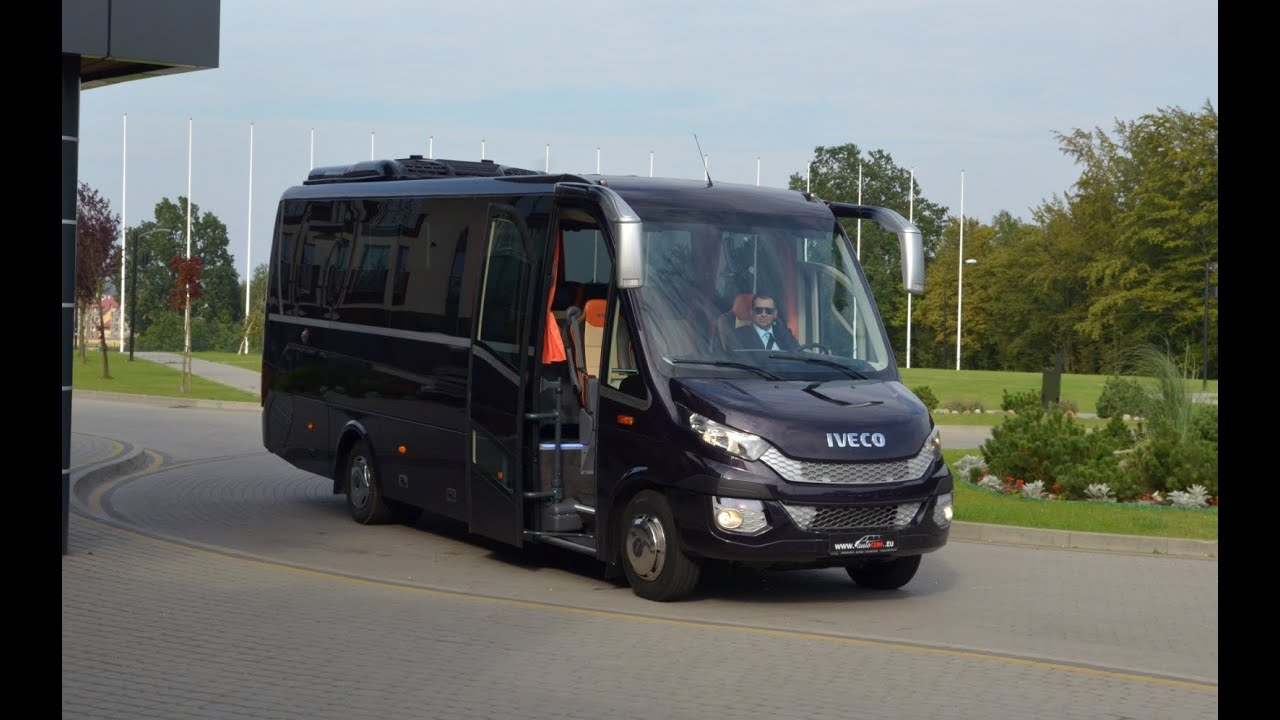 Motorhome Mercedes Benz >> IVECO Cuby MidiBus - YouTube