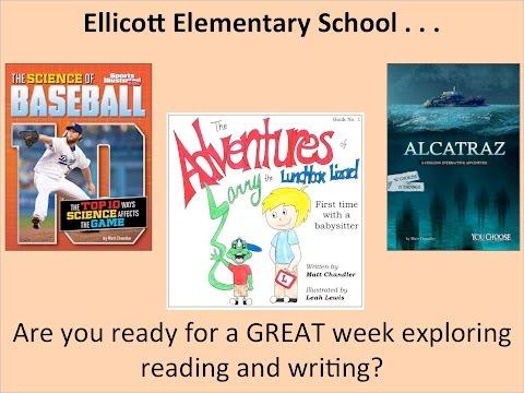 Ellicott Elementary School Author Visit Welcome