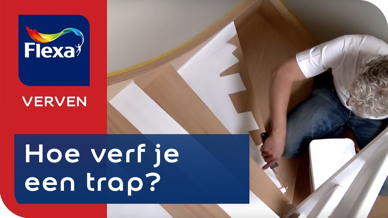 Trapverf Flexa Houten Trap Verven Tips Tricks Flexa Verf