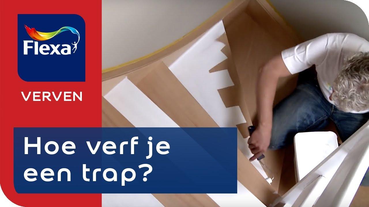 Betere Houten trap verven: tips & tricks | Flexa verf - YouTube BS-75