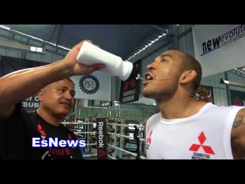 UFC Star Jose Aldo Full Mitt Workout With Robert Garcia Day 2 EsNews Boxing