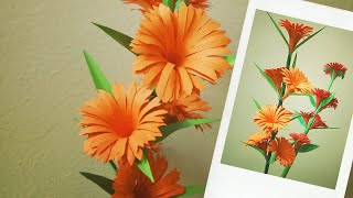 How To Make Beautiful Flowers with Paper? | DIY Paper Flower |#JNJDAYS