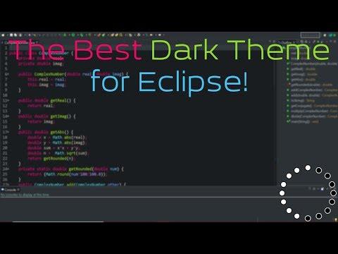 The Best Dark Theme for Eclipse!