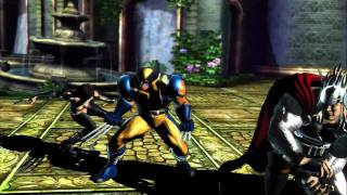 Marvel Vs. Capcom 3 - Fate of Two Worlds | gameplay trailer PS3 XBox 360