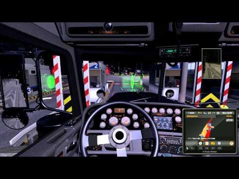 Euro Truck Simulator 2 v1.9.22 w/Scandinavia Mod v1.60 - Århus to Oslo