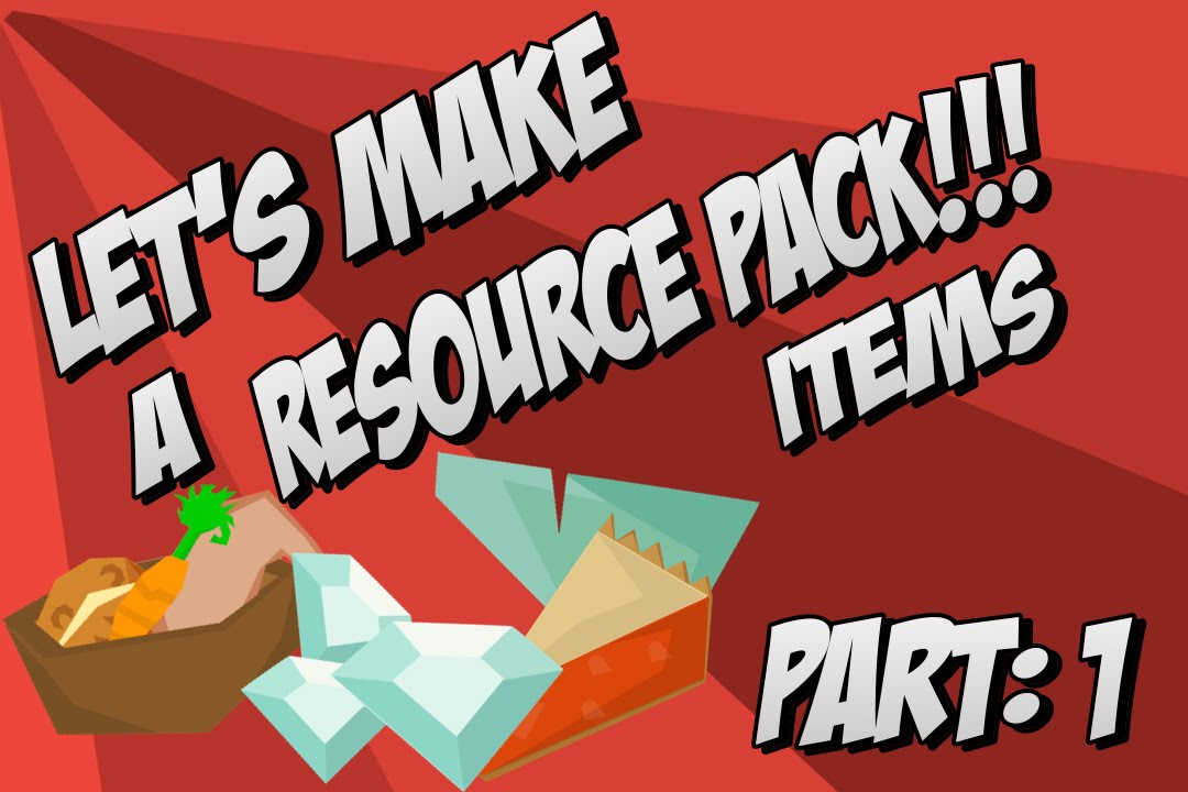 how to make a resource pack