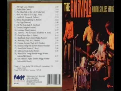 The Animals - Animals Blues Years [Full Album]