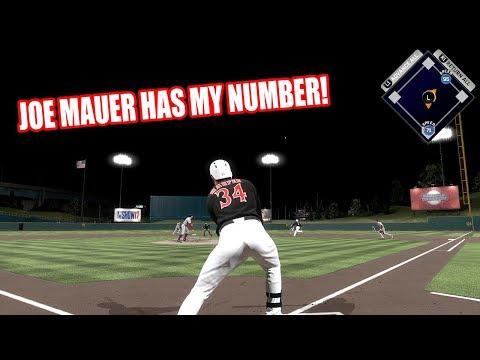 99 JOE MAUER HAS MY NUMBER!  - MLB The Show 17 Diamond Dynasty Gameplay