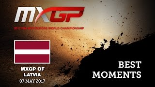 MXGP of Latvia, Kegums 2017 MXGP Qualifying  Best Moments