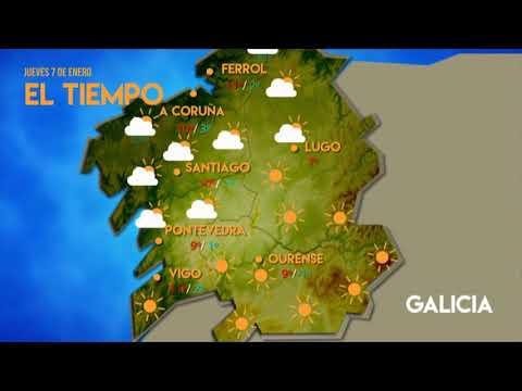 ¿Qué tiempo hará en Ourense y Galicia este jueves?
