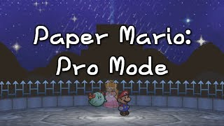 """This Paper Mario """"Pro Mode"""" Hack is Seriously Difficult!"""