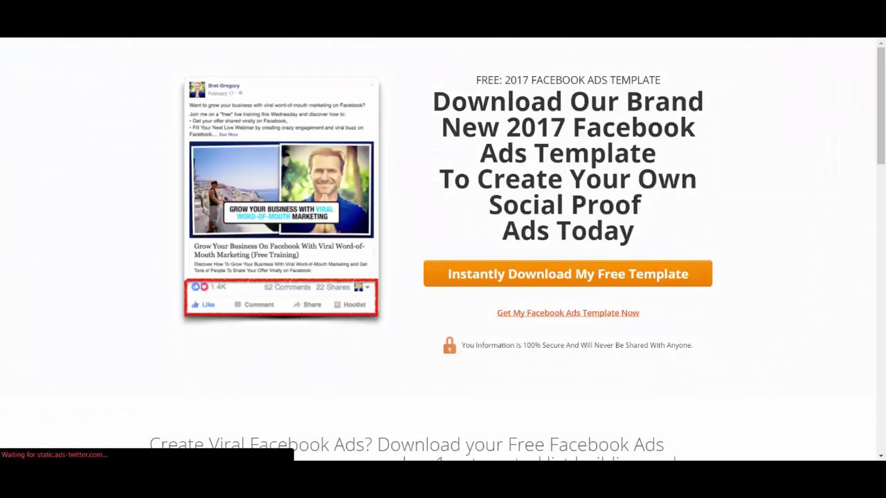 How to track Facebook Ad clicks in Infusionsoft from your