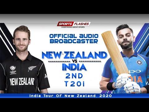Live भारत बनाम न्यूजीलैंड 2ndT20I | Live Scores and Hindi Commentary