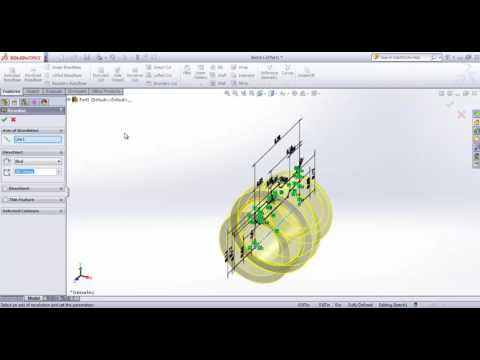 Drawing Colt 1911 with Solidworks - Tutorial Part 43 Bushing Stock Screw