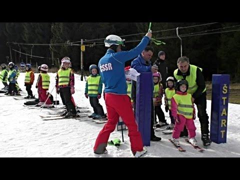 Lyžiarske preteky deti v Ski Gavúrky (film)