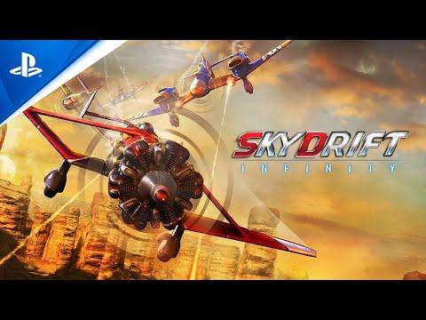 Skydrift Infinity - Release Trailer | PS4