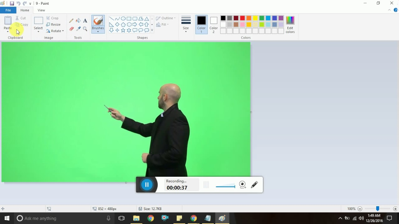 How to Resize an Image Using MS Paint in Windows 7 windows 8 or windows 10