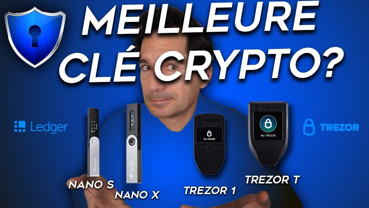 🔑 MEILLEURE Clé pour SECURISER sa Crypto Monnaie? Ledger ou Trezor?