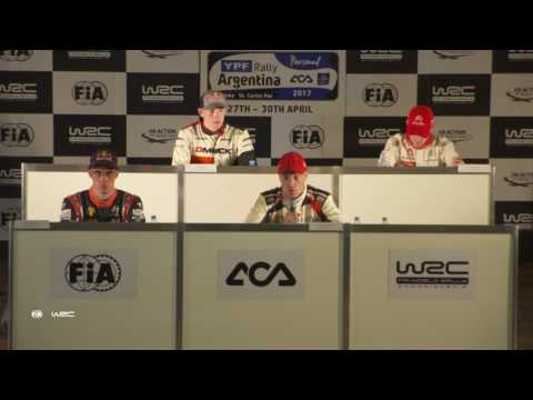 WRC - YPF Rally Argentina 2017: Pre-Event Press Conference