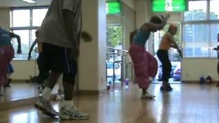 """ZUMBA w/ Cheryl Sroufe (Salsa) - Yokota AB, Japan - """"Zambo Montuno""""   30 April 09"""