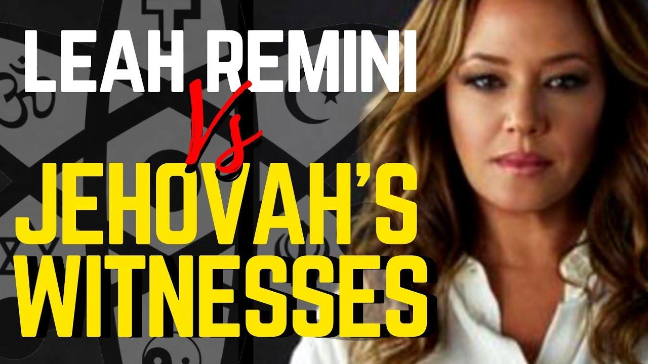It's Leah Remini Vs Jehovah's Witnesses! ~ Talk Beliefs News