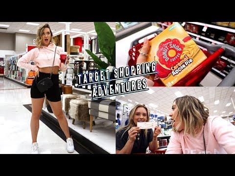 target shopping adventures + makeup monday
