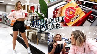 target shopping adventures + makeup monday