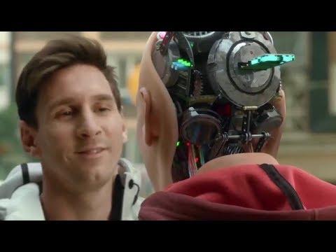 Lionel Messi vs. Robot Messi