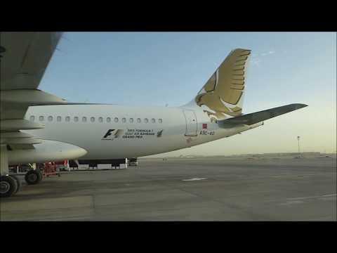 Gulf Air - GF003 & GF561 - MCT-BAH-LHR - A320-200 & A330-200