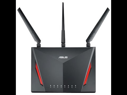 Asus RT-AC86U Wireless Router Unboxing & Merlin Firmware Overview